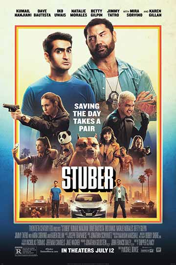 STUBER (R) Movie Poster