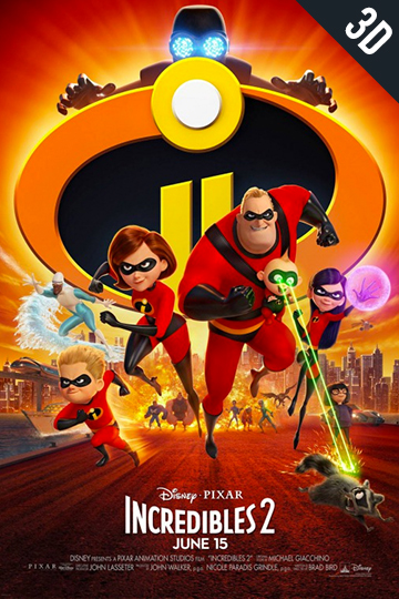 3d-incredibles-2 Movie Poster