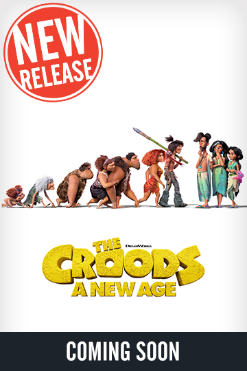 The Croods: A New Age (PG) Movie Poster