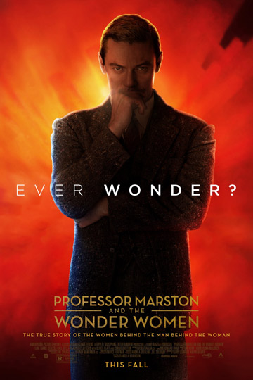 PROFESSOR MARSTON AND THE WONDER WOMEN (R) Movie Poster