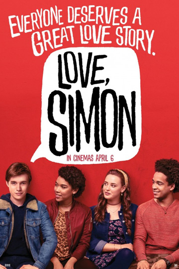 LOVE, SIMON (PG-13) Movie Poster