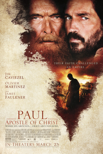 PAUL, APOSTLE OF CHRIST (PG-13) Movie Poster