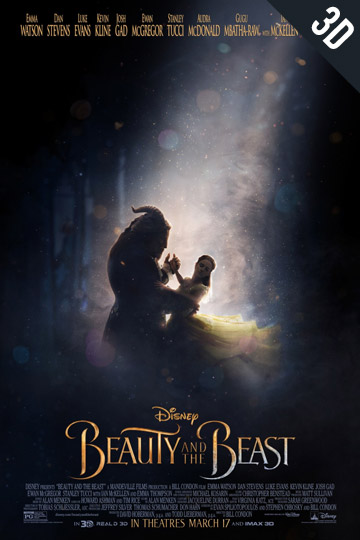 3d0beauty-and-the-beast Movie Poster