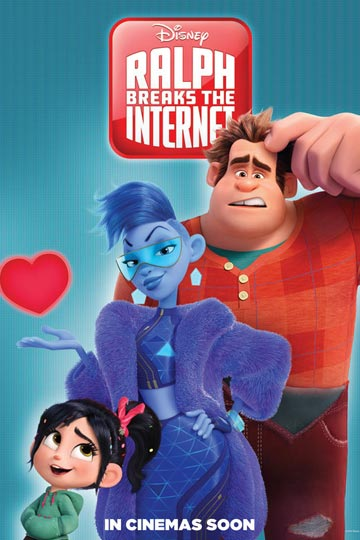 RALPH BREAKS THE INTERNET: WRECK-IT RALPH 2 (PG) Movie Poster