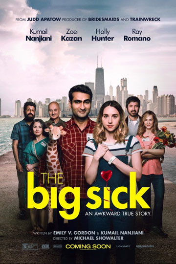 THE BIG SICK (R) Movie Poster