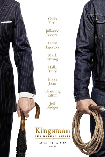 KINGSMAN: THE GOLDEN CIRCLE (R) Movie Poster