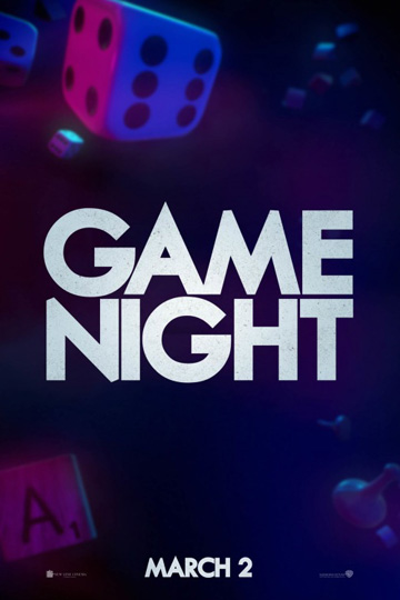 GAME NIGHT (R) Movie Poster