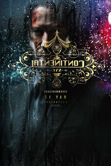 JOHN WICK: CHAPTER 3- PARABELLUM (R) Movie Poster