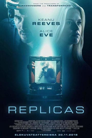 REPLICAS (PG-13) Movie Poster