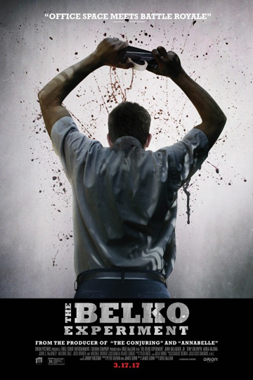 THE BELKO EXPERIMENT (R) Movie Poster