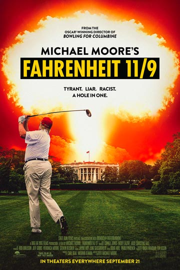 FAHRENHEIT  11/9 (R) Movie Poster