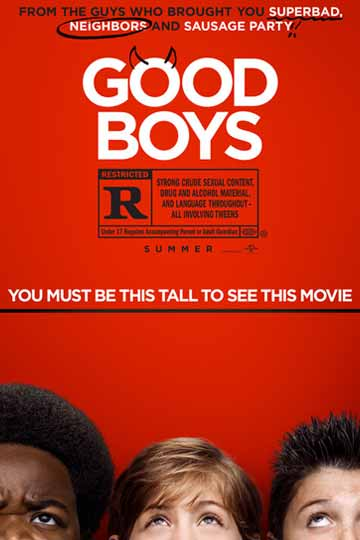 GOOD BOYS (R) Movie Poster