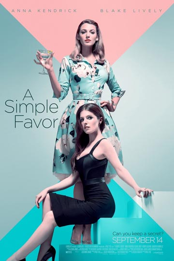 A SIMPLE FAVOR (R) Movie Poster