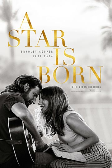 A STAR IS BORN (R) Movie Poster