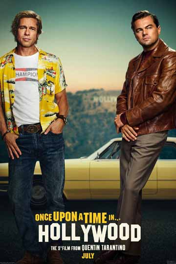 ONCE UPON A TIME IN HOLLYWOOD (R) Movie Poster