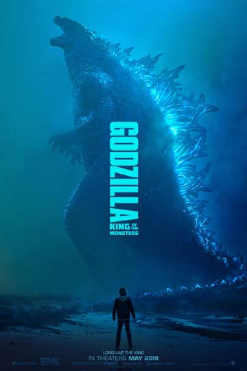 GODZILLA: KING OF THE MONSTERS (PG-13) Movie Poster