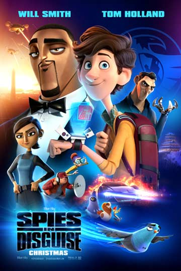 SPIES IN DISGUISE (PG) Movie Poster