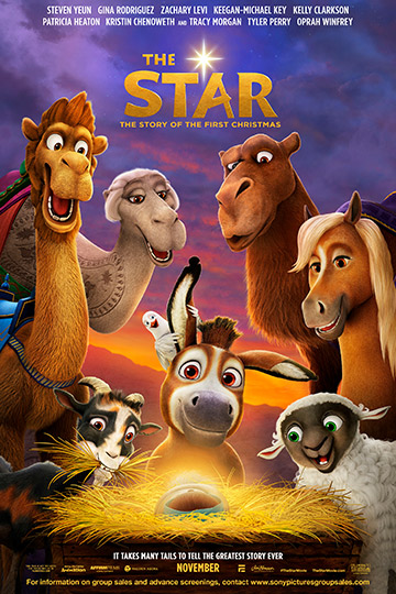 THE STAR (PG) Movie Poster