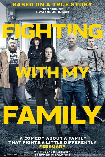 FIGHTING WITH MY FAMILY (PG-13) Movie Poster