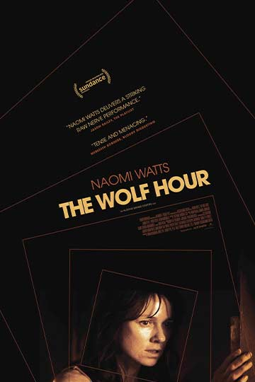 The Wolf Hour (R) Movie Poster