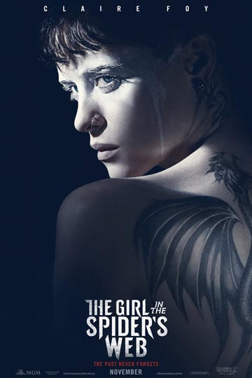 THE GIRL IN THE SPIDER'S WEB (R) Movie Poster
