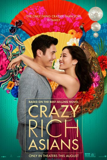 CRAZY RICH ASIANS (PG-13) Movie Poster