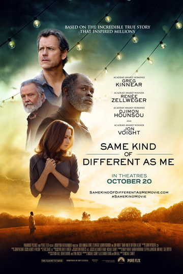 SAME KIND OF DIFFERENT AS ME (PG-13) Movie Poster
