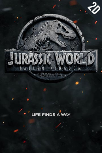 JURASSIC WORLD: FALLEN KINGDOM (PG-13) Movie Poster