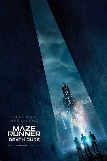 MAZE RUNNER: THE DEATH CURE (PG-13) Movie Poster