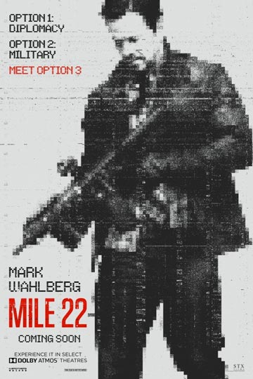 MILE 22 (R) Movie Poster