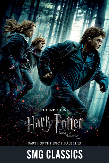 $5 HARRY POTTER AND THE DEATHLY HALLOWS PT 1 (PG-13) Movie Poster