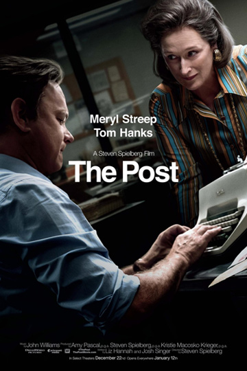 THE POST (PG-13) Movie Poster