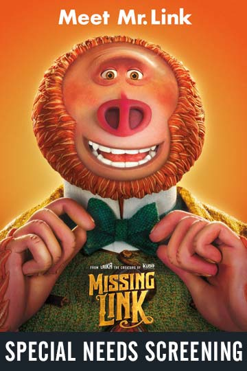 SPECIAL NEEDS: MISSING LINK (PG) Movie Poster