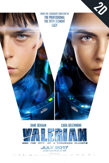 VALERIAN AND THE CITY OF A THOUSAND PLANETS (PG-13) Movie Poster