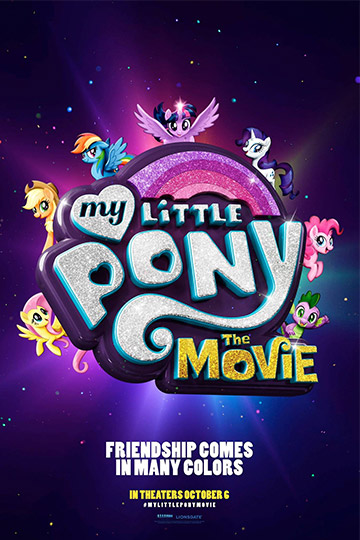 MY LITTLE PONY: THE MOVIE (PG) Movie Poster