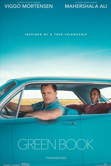 GREEN BOOK (PG-13) Movie Poster
