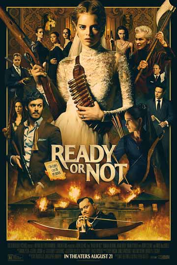 READY OR NOT (R) Movie Poster