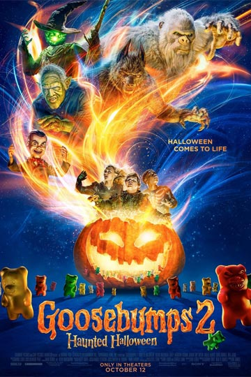 GOOSEBUMPS 2: HAUNTED HALLOWEEN (PG) Movie Poster