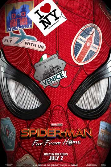 SPIDER-MAN: FAR FROM HOME (PG-13) Movie Poster