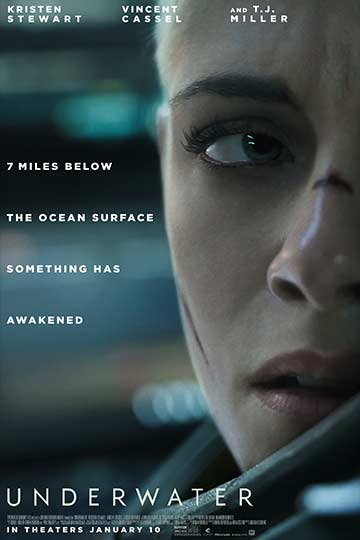Underwater (PG-13) Movie Poster