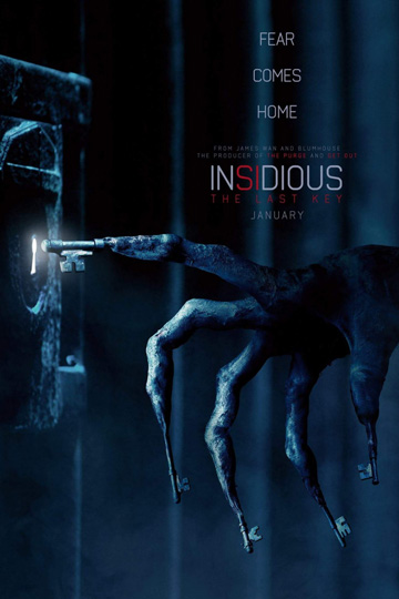 INSIDIOUS: THE LAST KEY (PG-13) Movie Poster