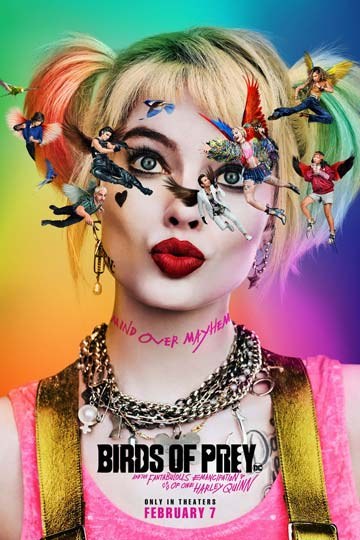 Harley Quinn: Birds of Prey (R) Movie Poster