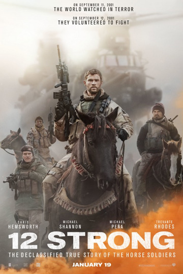 12 STRONG (R) Movie Poster