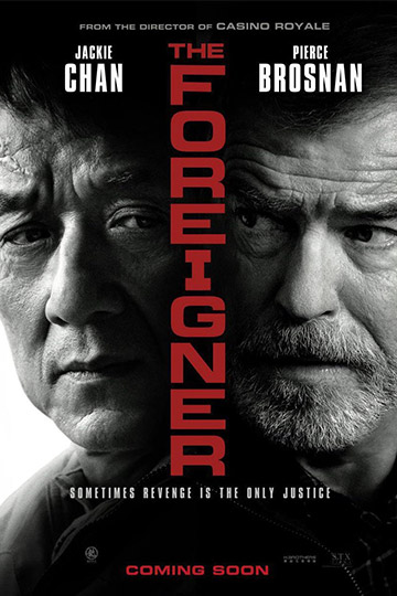 THE FOREIGNER (R) Movie Poster