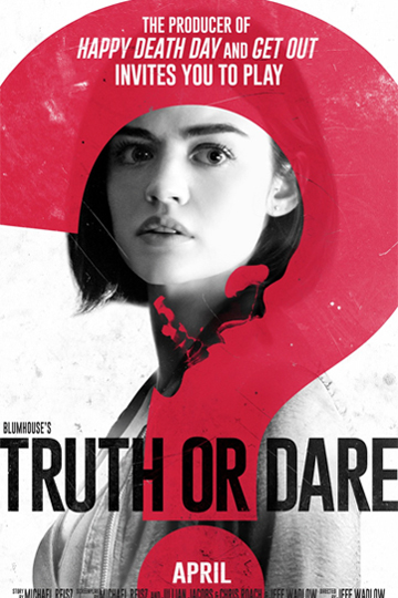 BLUMHOUSE'S TRUTH OR DARE (PG-13) Movie Poster