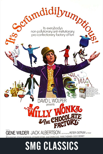 $5 WILLY WONKA AND THE CHOCOLATE FACTORY (G) Movie Poster