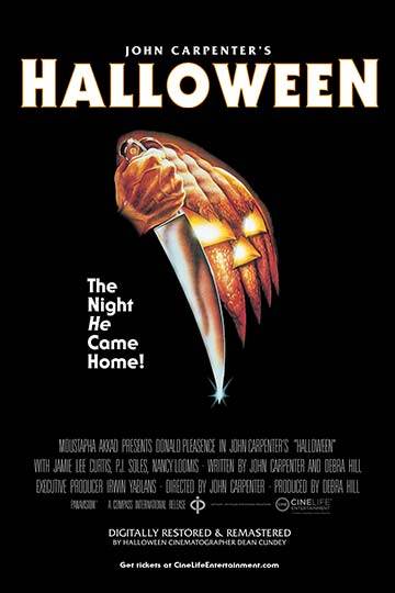 HALLOWEEN (1978) (R) Movie Poster