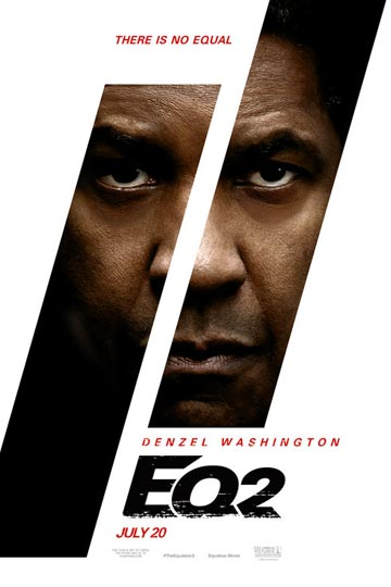 EQUALIZER 2 (R) Movie Poster