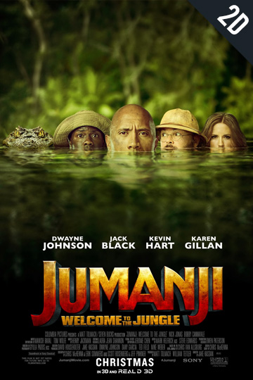 JUMANJI: WELCOME TO THE JUNGLE (PG-13) Movie Poster
