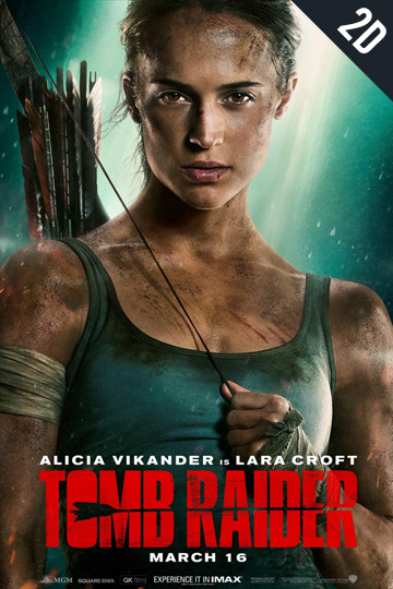 TOMB RAIDER (PG-13) Movie Poster